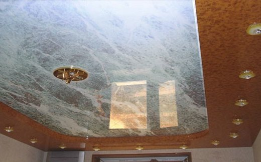 Фактура на потолке видео